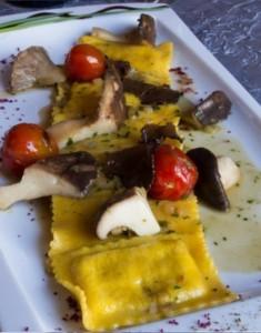 Il Trulletto - Restaurant  & Pizzeria : raviole à la truffe