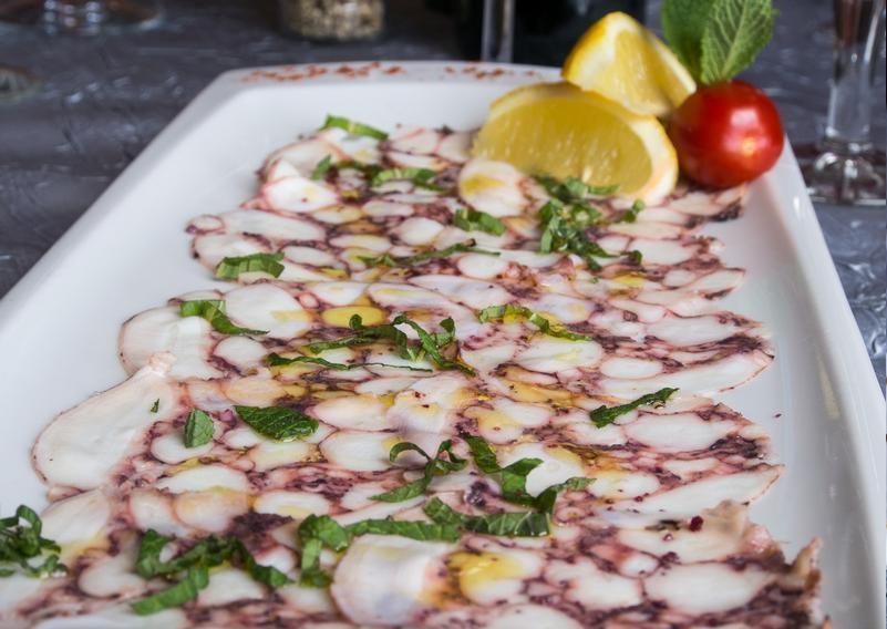 Il Trulletto - Restaurant  & Pizzeria : carpaccio de poulpe